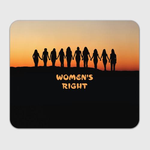 Коврик для мышки прямоугольный  Фото 01, Женщины правы