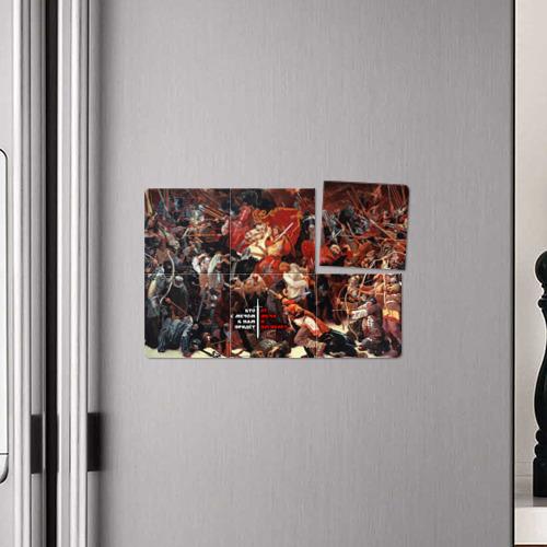 Магнитный плакат 3Х2  Фото 04, Александр Невский