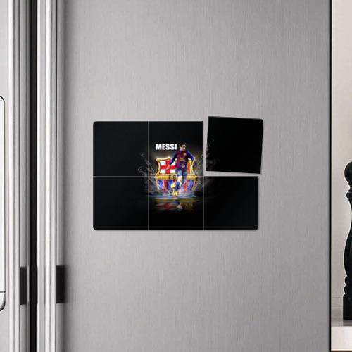 Магнитный плакат 3Х2  Фото 04, Месси