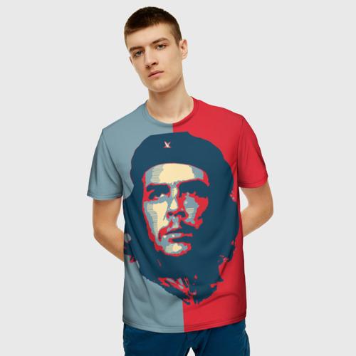 Мужская футболка 3D Che Guevara Фото 01
