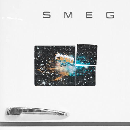 Магнитный плакат 3Х2  Фото 02, Новогодний cs:go шедевр