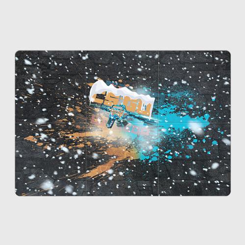 Магнитный плакат 3Х2  Фото 01, Новогодний cs:go шедевр