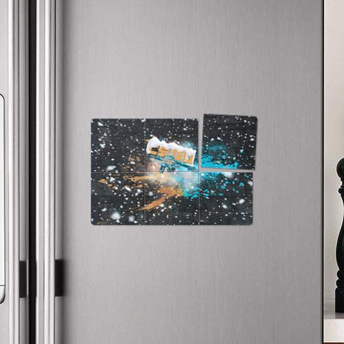 Магнитный плакат 3Х2  Фото 04, Новогодний cs:go шедевр