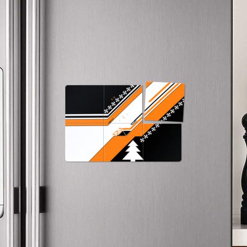 Магнитный плакат 3Х2  Фото 04, Новогодний cs:go асимов
