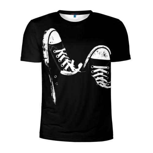 Мужская футболка 3D спортивная Кеды