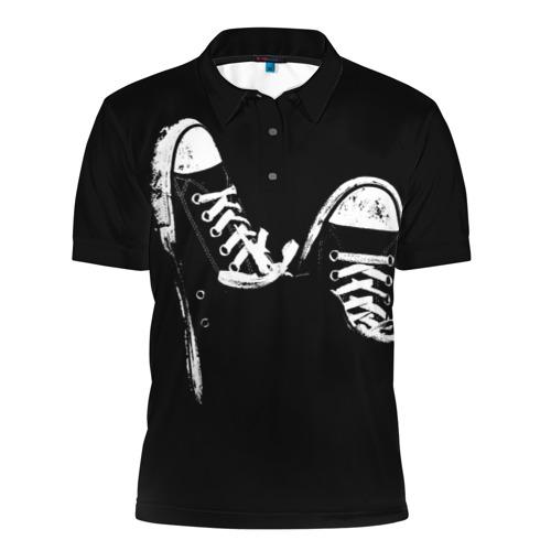 Мужская рубашка поло 3D Кеды