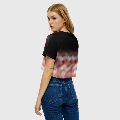 Женская футболка Cropp-top Капитан Тьерри Анри Фото 01