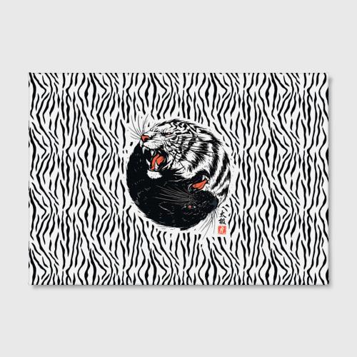 Холст прямоугольный  Фото 02, Yin Yang Tigers