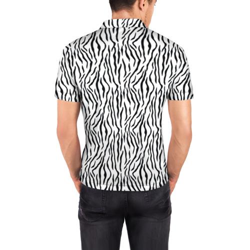 Мужская рубашка поло 3D  Фото 04, Yin Yang Tigers