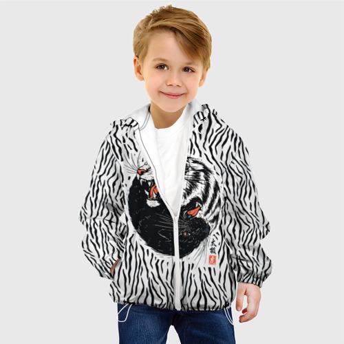 Детская куртка 3D  Фото 03, Yin Yang Tigers