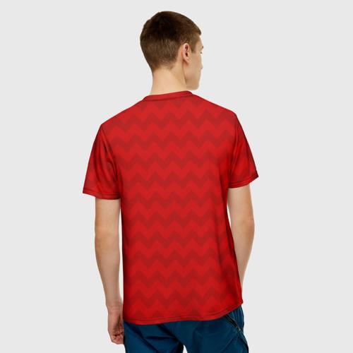 Мужская футболка 3D  Фото 02, Wolf Rage
