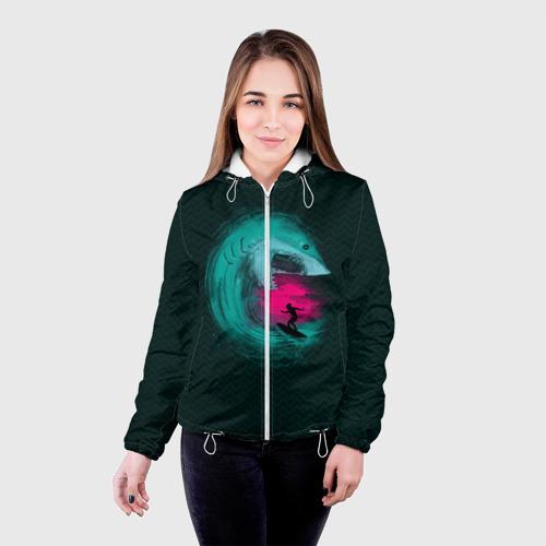 Женская куртка 3D  Фото 03, Shark Vortex