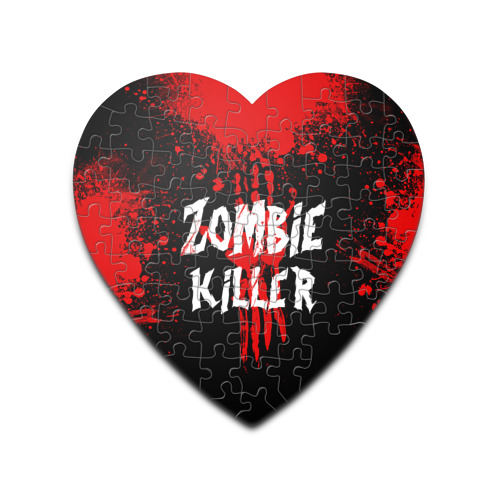 Пазл сердце 75 элементов  Фото 01, Zombie Killer