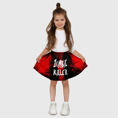 Детская юбка-солнце 3D  Фото 03, Zombie Killer
