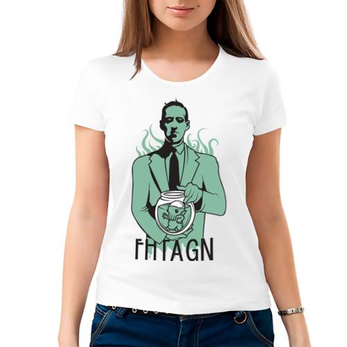 Женская футболка хлопок  Фото 03, Лавкрафт
