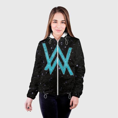 Женская куртка 3D Alan Walker 4 Фото 01