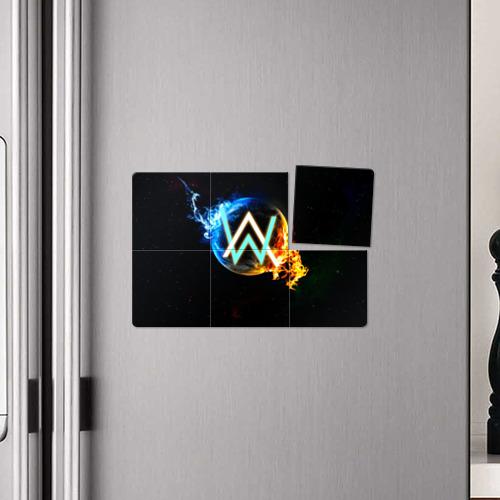 Магнитный плакат 3Х2  Фото 04, Alan Walker 5