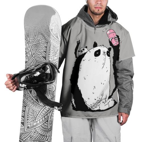 Накидка на куртку 3D  Фото 01, panda