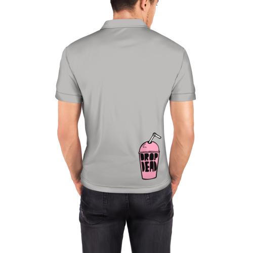 Мужская рубашка поло 3D  Фото 04, panda