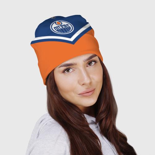 Шапка 3D  Фото 03, Edmonton Oilers