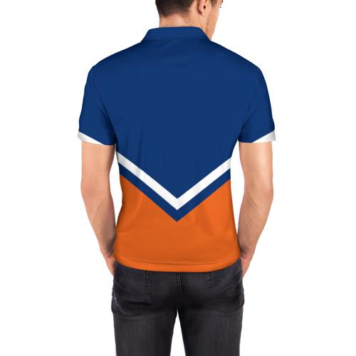 Мужская рубашка поло 3D  Фото 04, Edmonton Oilers