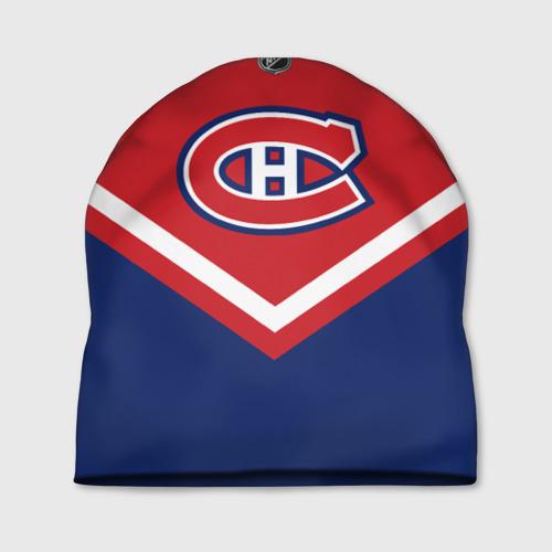 Шапка 3D  Фото 01, Montreal Canadiens