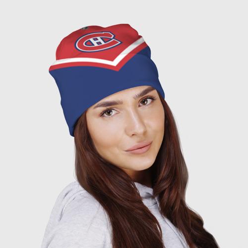 Шапка 3D  Фото 03, Montreal Canadiens