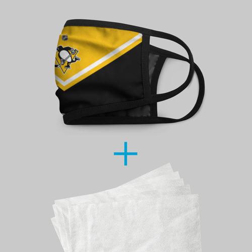 Маска защитная (+5 фильтров) Pittsburgh Penguins Фото 01