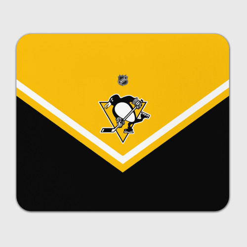 Коврик для мышки прямоугольный  Фото 01, Pittsburgh Penguins