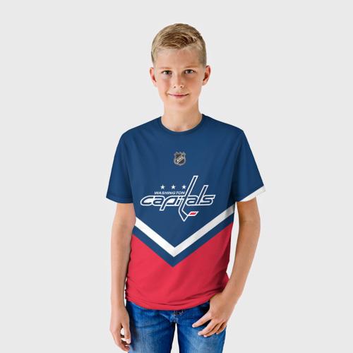 Детская футболка 3D Washington Capitals