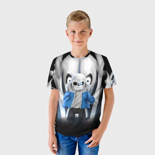 Детская футболка 3D Sans