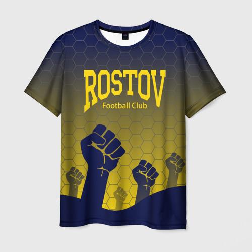 Мужская футболка 3D  Фото 03, Rostov Football club