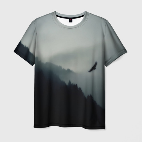 Мужская футболка 3D Орёл Фото 01