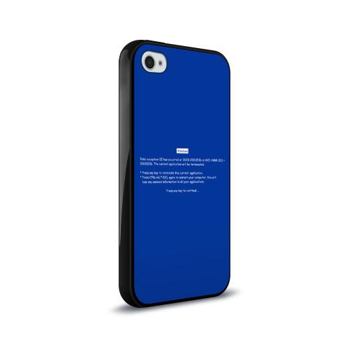 Чехол для Apple iPhone 4/4S силиконовый глянцевый  Фото 02, Системная ошибка