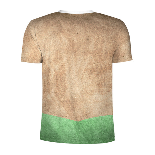 Мужская футболка 3D спортивная  Фото 02, Шоколадная фабрика 4