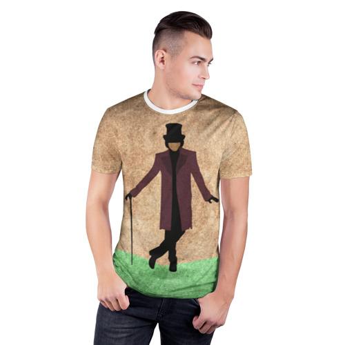 Мужская футболка 3D спортивная  Фото 03, Шоколадная фабрика 4