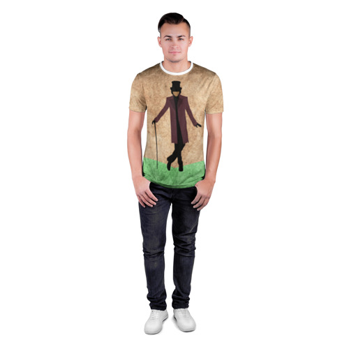 Мужская футболка 3D спортивная  Фото 04, Шоколадная фабрика 4