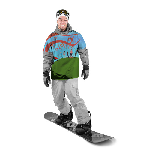 Накидка на куртку 3D  Фото 03, Шоколадная фабрика 5