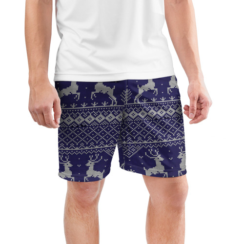 Мужские шорты 3D спортивные  Фото 03, Олени