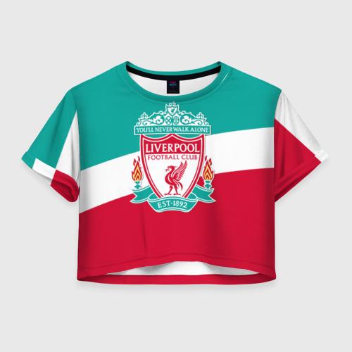 Женская футболка Cropp-top Ливерпуль