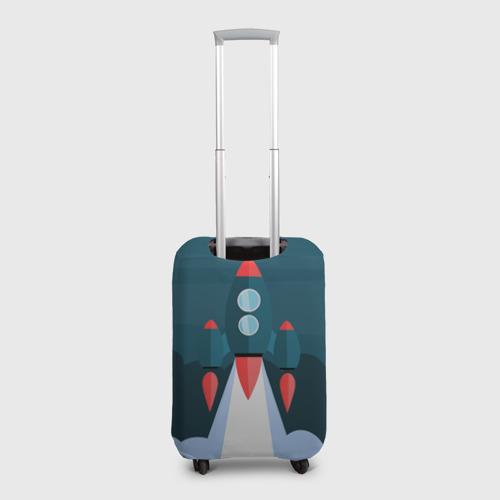 Чехол для чемодана 3D  Фото 02, Ракета