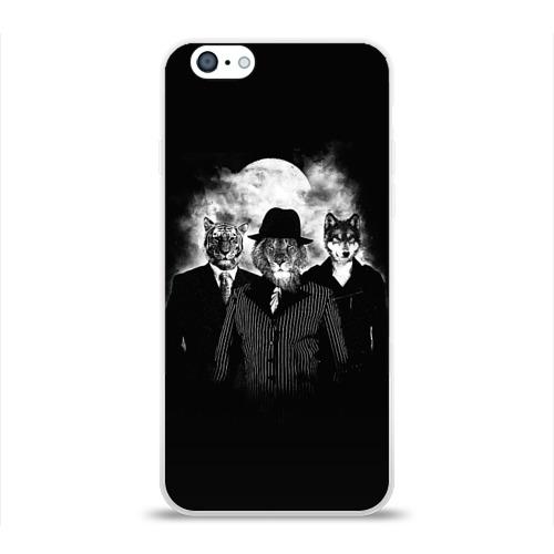 Чехол для Apple iPhone 6 силиконовый глянцевый  Фото 01, Элитные звери