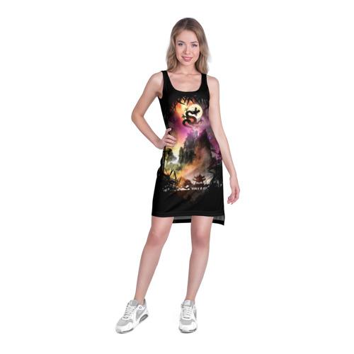 Платье-майка 3D  Фото 03, Fantasy Forest