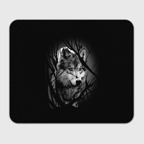 Коврик прямоугольный  Фото 01, Серый волк