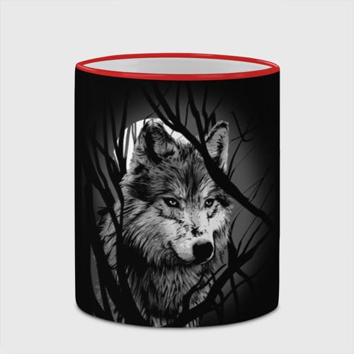 Кружка с полной запечаткой  Фото 03, Серый волк