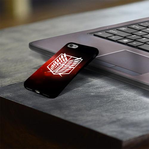 Чехол для Apple iPhone 8 силиконовый глянцевый Атака Фото 01