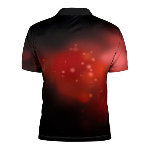 Мужская рубашка поло 3D Атака Фото 01
