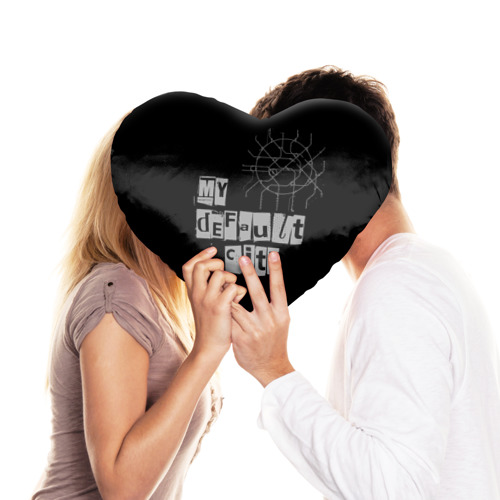 Подушка 3D сердце  Фото 03, Default City