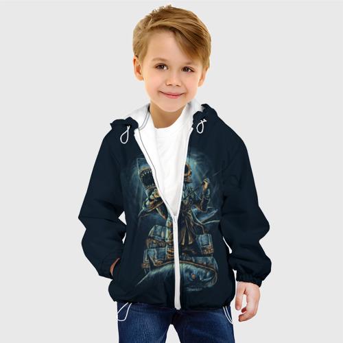 Детская куртка 3D  Фото 03, Подводная охота