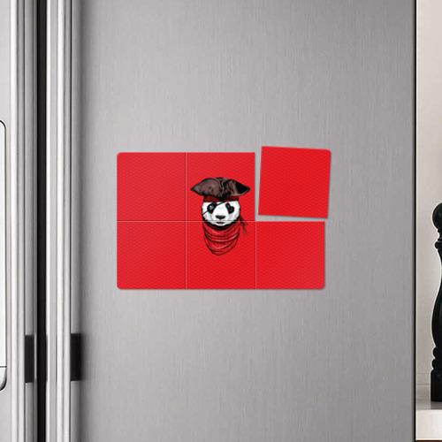 Магнитный плакат 3Х2  Фото 04, Панда пират